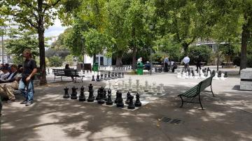 Här spelas det schack