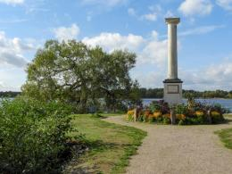 Monument till Johan Bergencreutz ära
